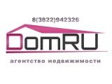 "Логотип Агентство недвижимости ""ДомRu"""