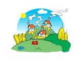 Логотип Моя деревенька