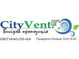 Логотип Кондиционеры, тепловые насосы Сityvent