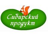 Логотип Сибирский Продукт: чай, шиповник, кедровый орех